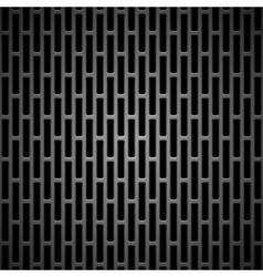 Background with seamless black carbon texture vector