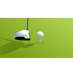 Driver and ball vector