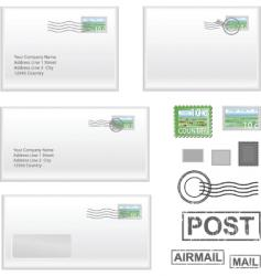 Mail address vector