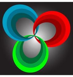 Spectral icon vector