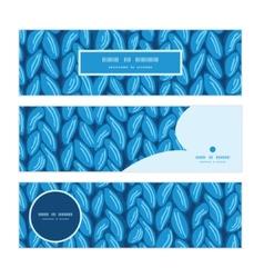 Knit sewater fabric horizontal texture horizontal vector