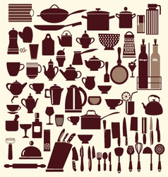 Kitchenware set - vector