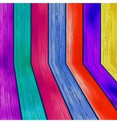 Colorful wooden with copyspace  eps8 vector