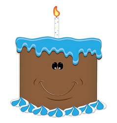 Chocolate birthday vector