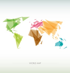 Geometric map of the world vector