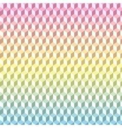 Geometric background texture 3d pattern vector