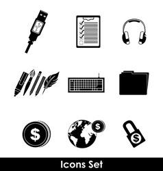 Shopping online design vector