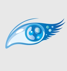 Beauty eye vector