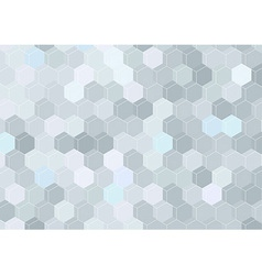 Geometrical hexagon structure background template vector