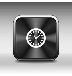 Clock icon time timer watch graphic vector