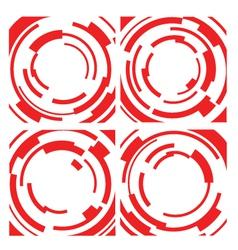 Circle block element vector
