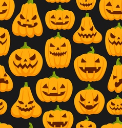 Pumpkin pattern vector