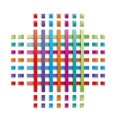 Color lines vector