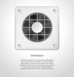 Gray ventilation vector