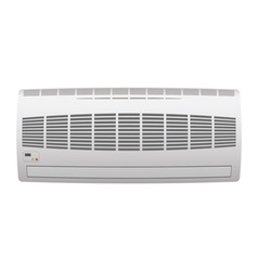 Modern air conditioner vector
