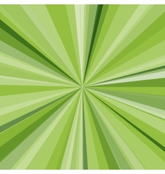 Green rays background for your bright beams design vector