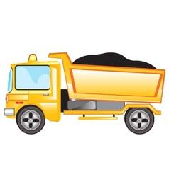 Cargo car vector