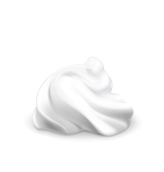 Whipped cream vector