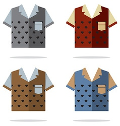 Shirts for men vector
