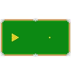 Billiard vector
