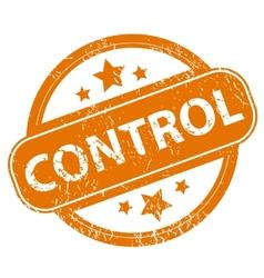 Control grunge icon vector