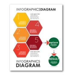 Infographics diagram vector