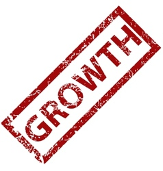 Growth rubber stamp vector