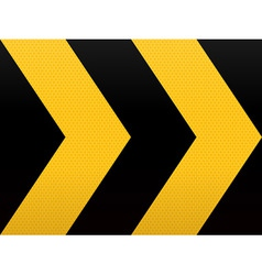 Seamless yellow black arrow vector