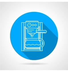 Line icon for coffee machine vector