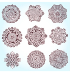 Arabesque set2 vector
