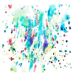 Colorful watercolor vector