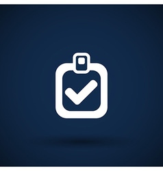 Checkmark icon test form mark tick check vector