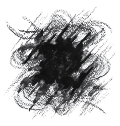 Black and white abstract background vector