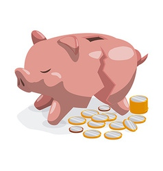 Savings graphic vector