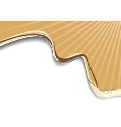 Coffee latte art advertisement vector