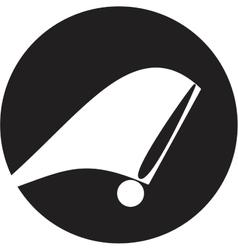 Tachometer icon vector