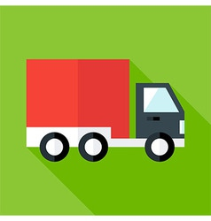 Shipping and free delivery flat vector