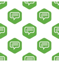 Message pattern vector