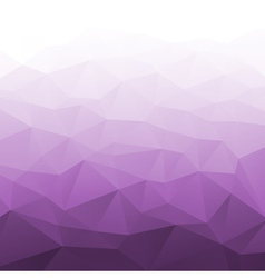 Abstract gradient violet geometric background vector