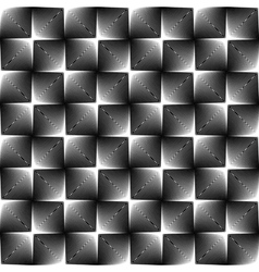 Design seamless square trellised pattern vector