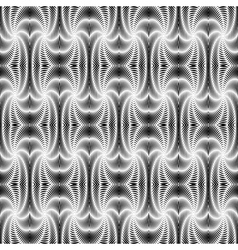 Design seamless monochrome textile pattern vector