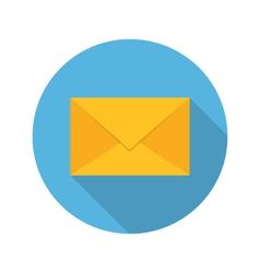 E mail envelope icon vector