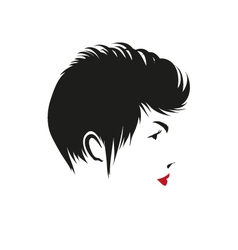 Fashion silhouette woman style vector
