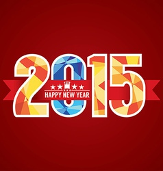 2015 abstract banner vector