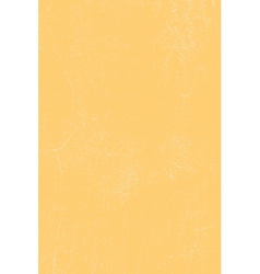 Yellow cracked plaster texture vector