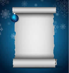 Christmas scroll vector
