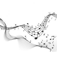 Music blend vector