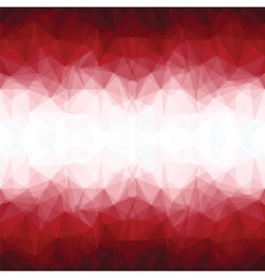 Red mosaic background vector
