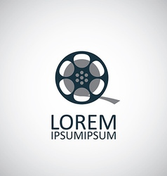 Video film icon vector