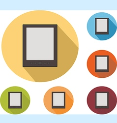 Icons cell phone vector